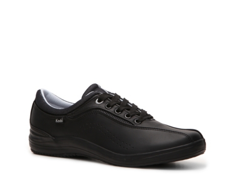 black leather keds shoes for women