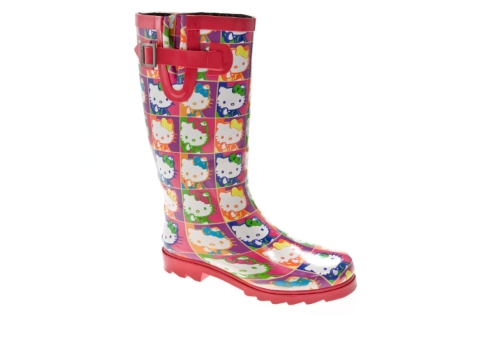 Creative 83 Off Sanrio Boots  Hello Kitty Rain Boots Size 9 Womens From