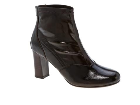 franco sarto oblige patent ankle boot dsw
