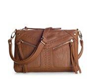 Poppie Jones Front Zip Crossbody Bag