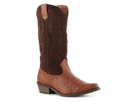 coconuts gaucho two tone cowboy boot dsw