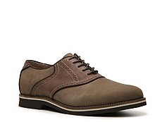 G.H. Bass & Co. Burlington Nubuck Saddle Oxford