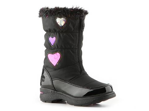 Totes Heartful Girls Toddler & Youth Snow Boot | DSW