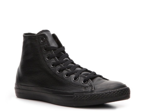 all black all star converse high tops