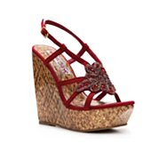 Two Lips Intense Wedge Sandal