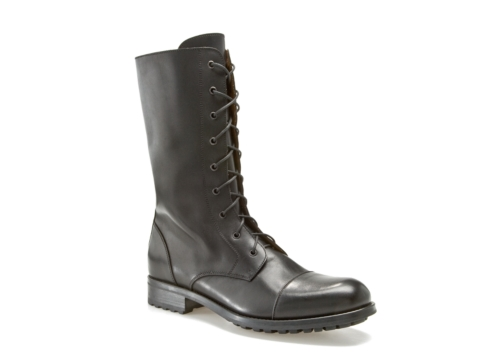 mike konos leather combat boot dsw