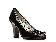 Marc by Marc Jacobs Patent Leather Peep Toe Pump