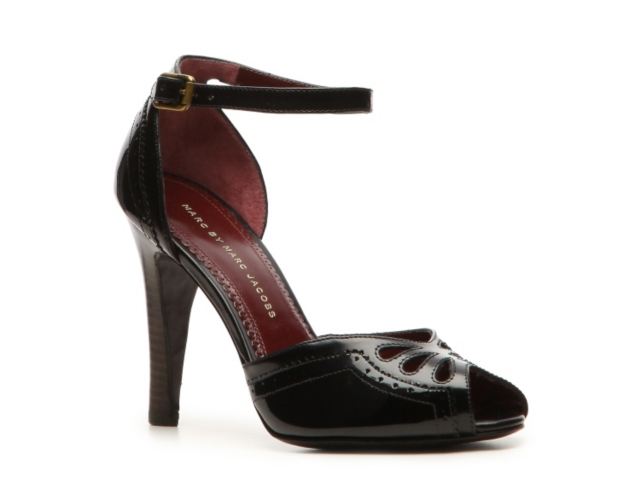 Marc by Marc Jacobs Patent Leather Ankle Strap Pump
