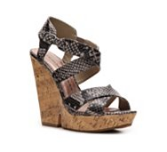 Chinese Laundry Gum Drop Wedge Sandal