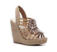 Naughty Monkey Scream Queen Wedge Sandal