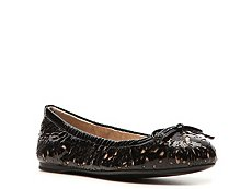Prada Patent Leather Lasercut Flat