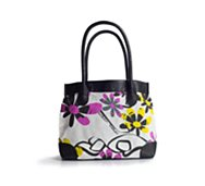 Poppie Jones Printed Canvas Tote