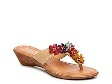 Italian Shoemakers Giggle Wedge Sandal
