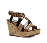 Kenneth Cole Reaction Action Doll Wedge Sandal