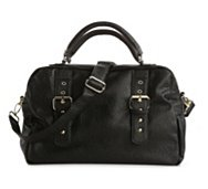Steve Madden Double Zipper Satchel