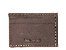 Timberland Cow Crunch Flip Clip Leather Wallet