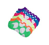 Poppie Jones Polka Dot Sock, 6 Pack