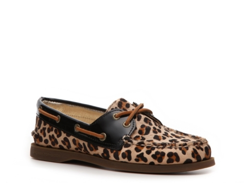 sperry top sider s a o leopard boat shoe dsw