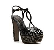 Sergio Rossi Patent Leather Cutout Sandal