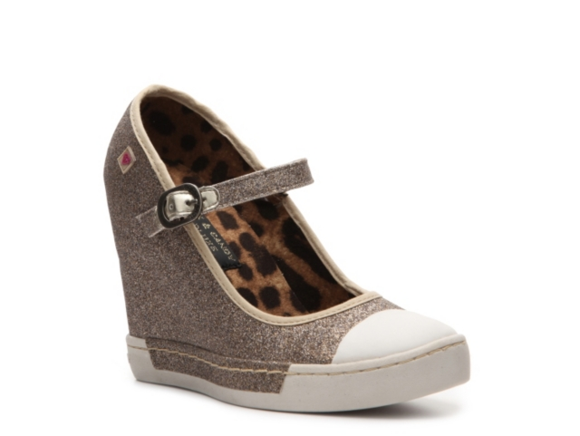 Rock & Candy Pin Up Wedge Sneaker