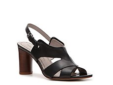 Marc by Marc Jacobs Leather Slingback Sandal