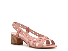 Marc by Marc Jacobs Nubuck Leather Cutout Sandal