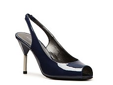 Marc by Marc Jacobs Patent Leather Slingback Pump