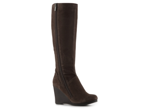 kenneth cole reaction flirty skirt wedge boot dsw