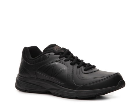 new balance walking shoes black