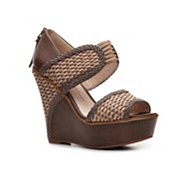House of Harlow 1960 Eden Wedge Sandal