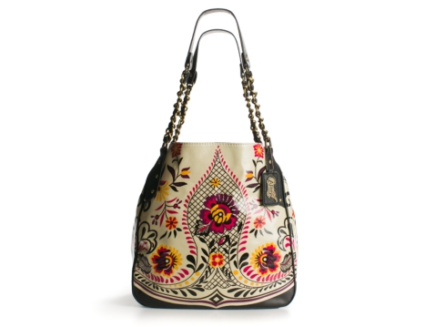 Carlos Santana Stella Chain Shoulder Bag 106