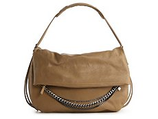 Jimmy Choo Large Leather Biker Hobo