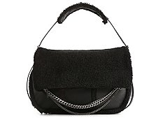 Jimmy Choo Large Biker Shearling Hobo