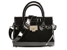 Jimmy Choo Rosalie Patent Leather Satchel