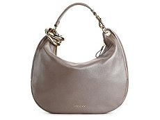 Jimmy Choo Solar Leather Large Hobo