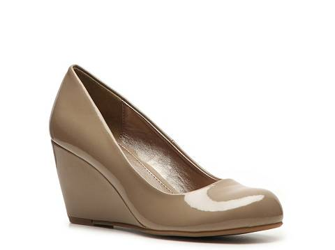 CL by Laundry Nima Patent Wedge Pump | DSW