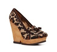 Sam Edelman Wesley Leopard Wedge Pump