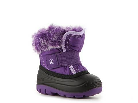Kamik Sugarplum Girls Toddler Snow Boot   DSW