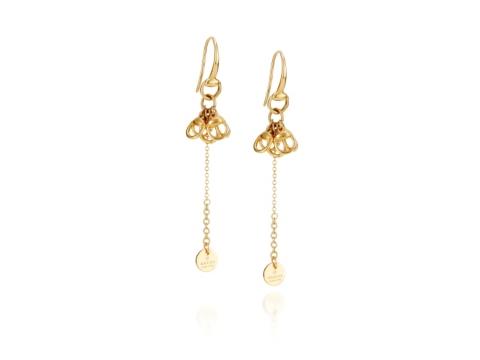 Gucci Gold Earrings Gucci Horsebit Drops Gold