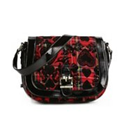 Betsey Johnson School of Hearts Cross Body Bag