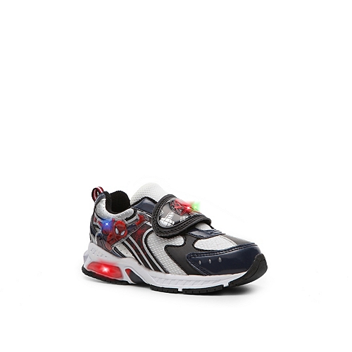 Disney Spiderman Boys' Toddler Light-up Sneaker