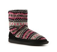 Steve Madden Fairisle Knit Boot Slipper