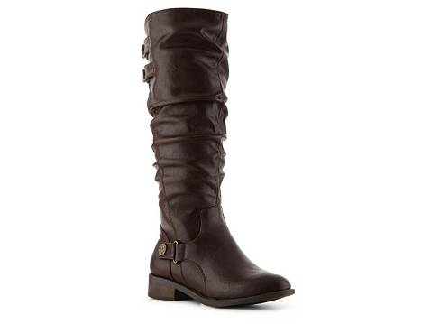 white mountain loon wide calf boot  dsw