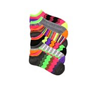 Poppie Jones Zig Zag Stripe Sock, 6 Pack