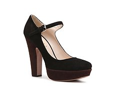 Prada Suede Mary Jane Pump