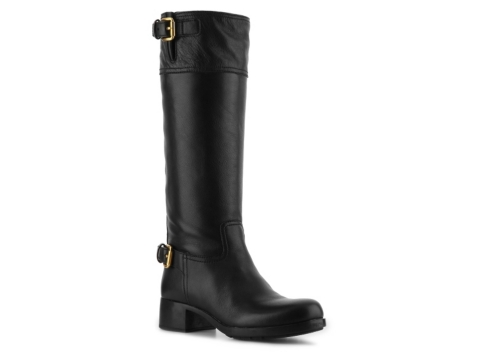 prada leather boot dsw