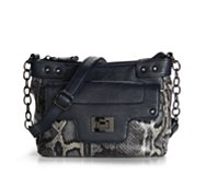 Poppie Jones Colored Snake Mini Crossbody