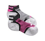 Puma Women's Tech Run Low Sock, 2 Pack
