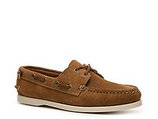 Ralph Lauren Collection Bax Suede Boat Shoe