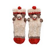 Poppie Jones Monkey Slipper Sock